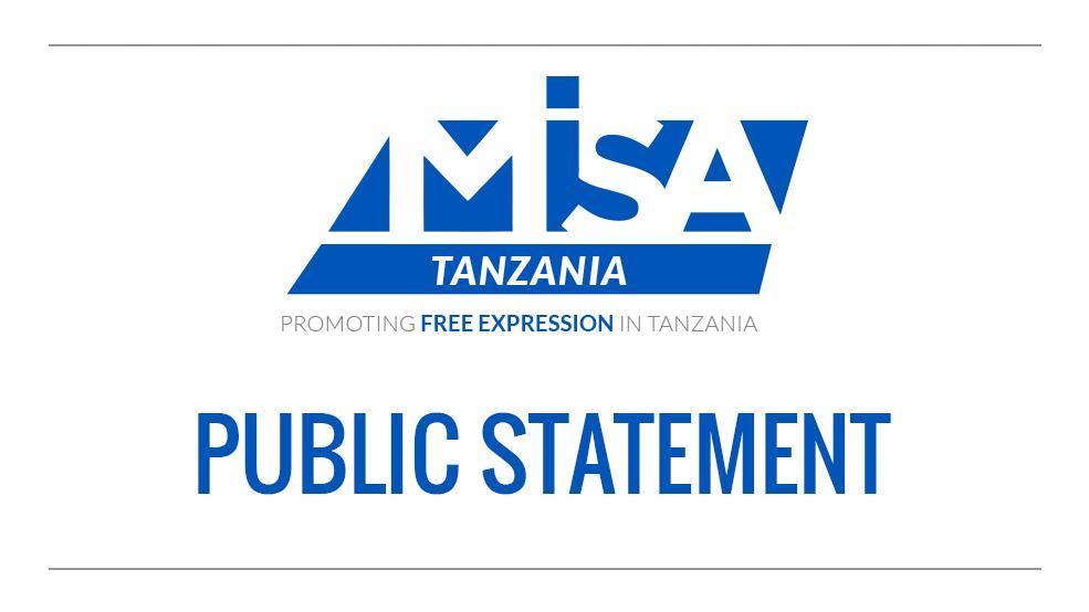 Public Statement  On the Suspension/Ban of Journalist & Online Media in the URT