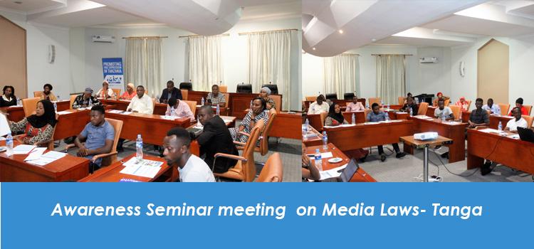Awareness Seminar meeting on Media Laws