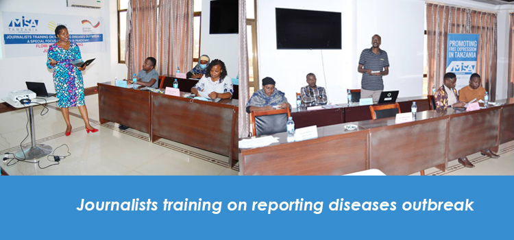 Journalists training on reporting diseases outbreak